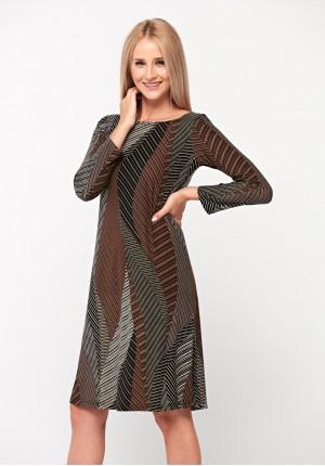 Dress in natural colors