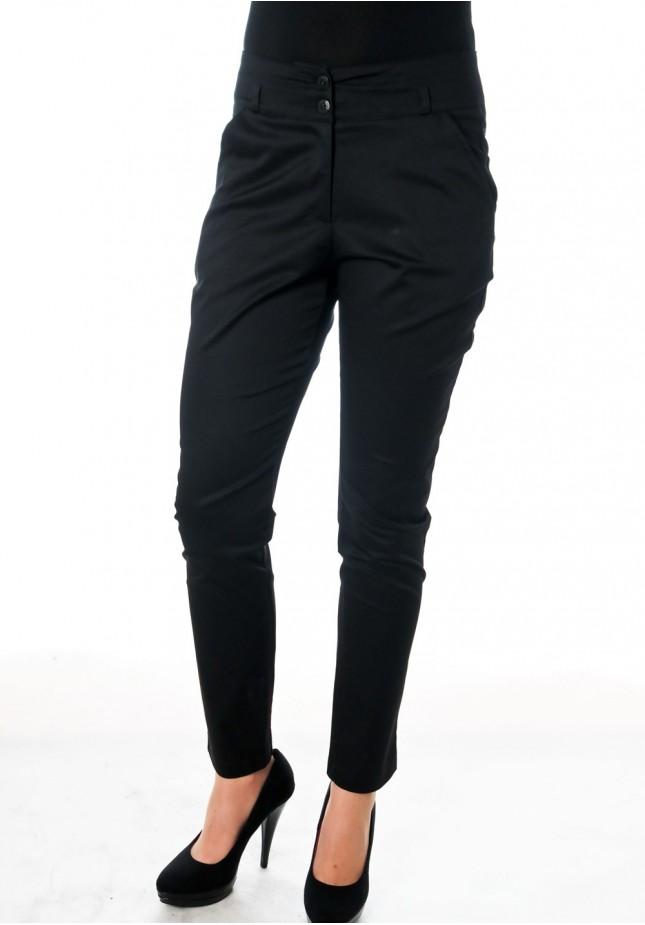 Klasyczne czarne Spodnie