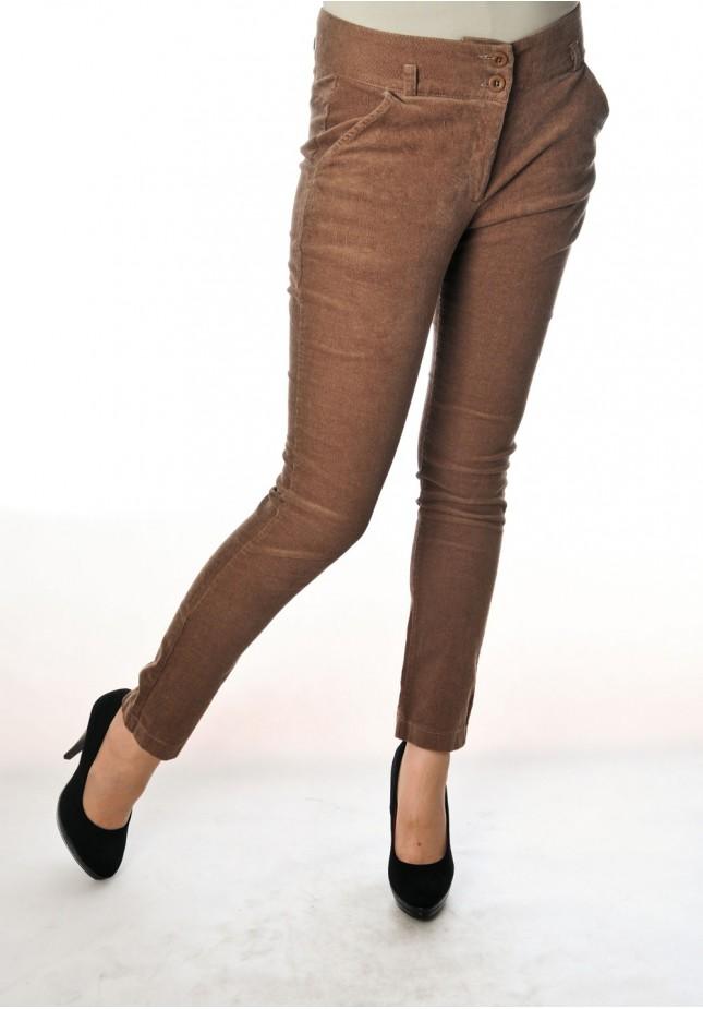 Spodnie 5097 (brązowe)