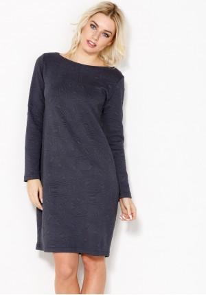 Sukienka 1371 (atramentowa)