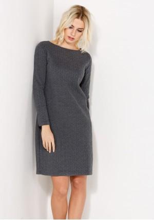 Sukienka 1371 (szary)