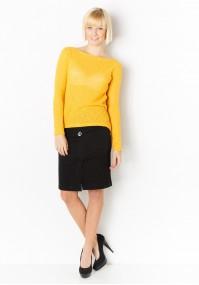 Dark yellow sweater