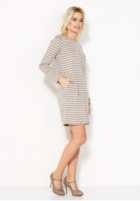 Knitted Striped Dress
