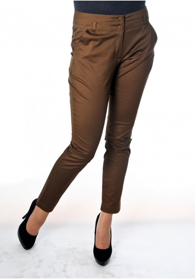 Spodnie 5093 (brązowe)