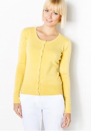 Jasnożółty Sweter