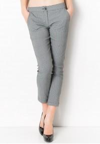 Klasyczne Spodnie w kratkę