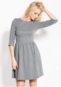 Odcinana elegancka Sukienka