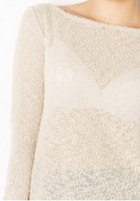 Sweter 8818 (jasny beż)