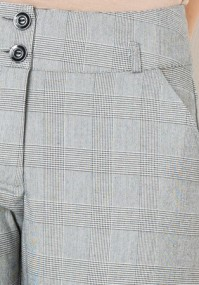 Gray checkered Pants