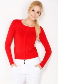 Klasyczny Czerwony Sweter